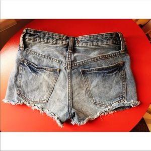 Low Rise Free People Denim Shorts